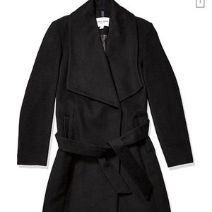 Cole Haan Wrap Wool Coat
